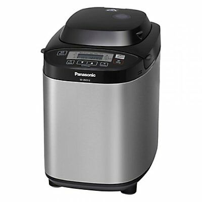 Panasonic SD-ZB2512 Automatic Bread Maker Stainless Steel Silver Kitchen