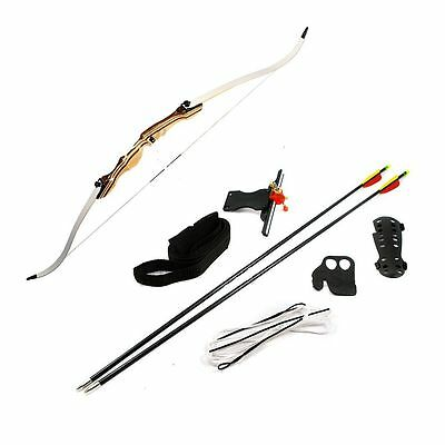Complete  Adult Take Down  Recurve Bow Archery Kit