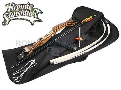 S1 Recurve Take Down Archery Bow Complete Bagged Set Light Youths R/Hand