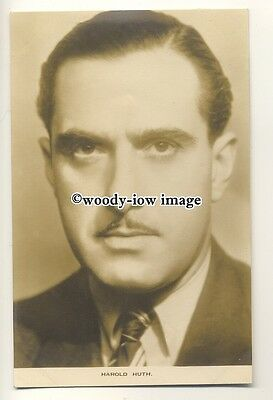 b3481 - Film Actor - Harold Huth - postcard by Film Weekly