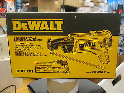 Dewalt Collated Drywall Screwgun Attachment #dcf6201 New