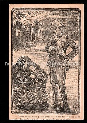 Boer War British Soldier Tells Boer Woman Child Go To Concentration Camp Pc - 03