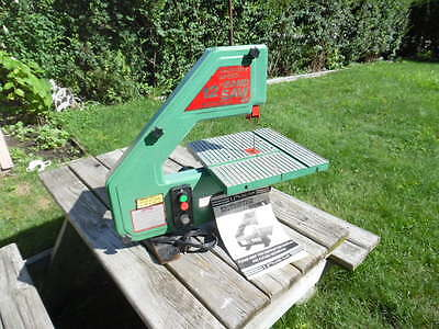 "Central Machinery 12"" Heavy Duty.Variable Speed Table Top Band Saw works Great"