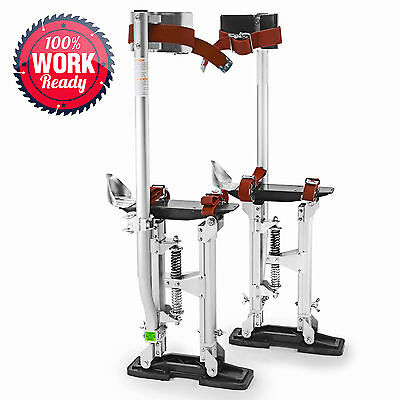 "OPEN BOX - Drywall Painters Walking Stilts Finishing Tools -Adjustable 24"" - 40"""