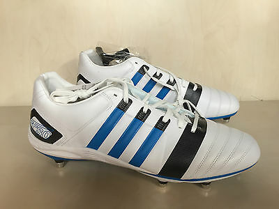 adidas FF80 TRX II SG Pro Rugby Boots UK 15 White rrp £130