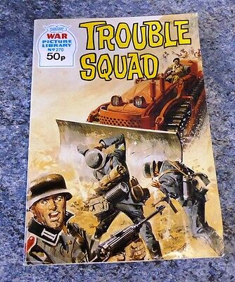 War Picture Library Comic- No 270 Trouble Squad