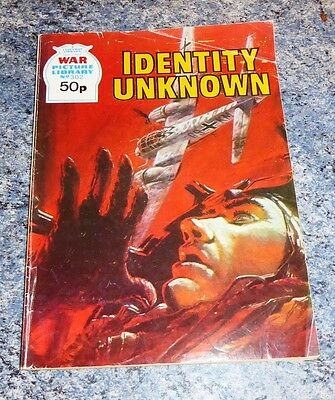 War Picture Library Comic- No 302 Identity Unknown