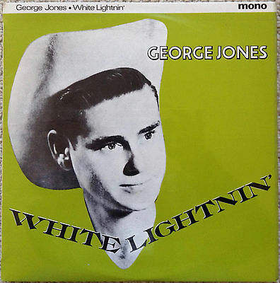 George Jones: White Lightnin' (10-Inch Lp)