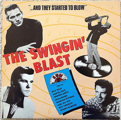 The Swingin' Blast - Various Artists (10-Inch Lp)