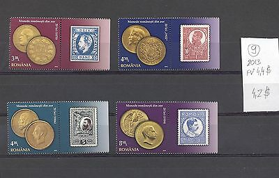 Romania 2013 MNH set.Coins.See scan.