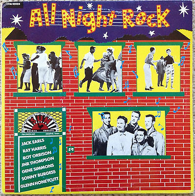 All Night Rock - Various Artists (10-Inch Lp)