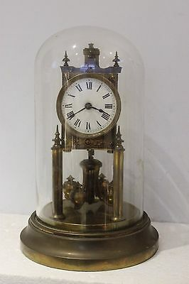 Gustav Becker 400.day clock/ Anniversary Clock/torsion clock/dome clock {4 ball}