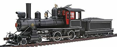 Bachmann 28306 On30 Painted & Unlettered 4-4-0 American Steel Cab w/DCC Loco