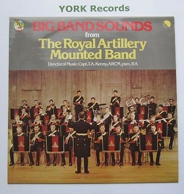 ROYAL ARTILLERY MOUNTED BAND - Big Band Sounds - Ex Con LP Record EMI NTS 131