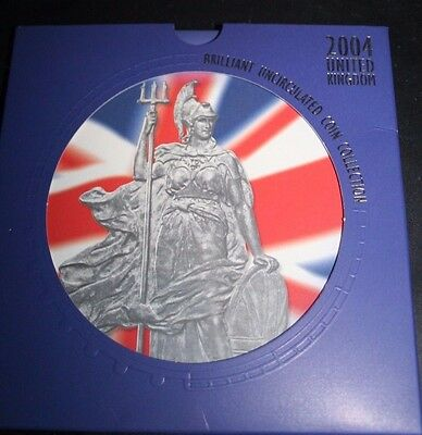 United Kingdom 2004 BUNC Ten Coin Collection In Presentation Pack