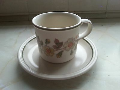 M&S Vintage tea cup and saucer - autumn leaves