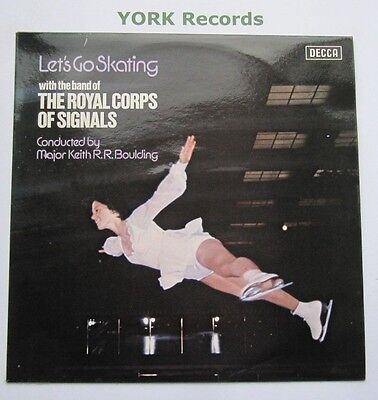 BAND OF THE ROYAL CORPS OF SIGNALS - Let's Go Skating - Ex Con LP Record Decca