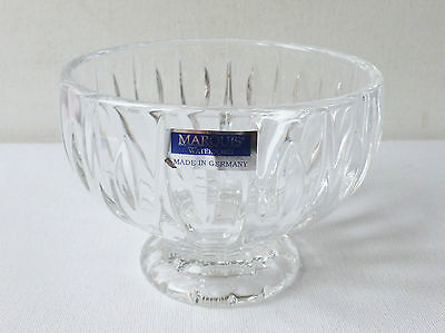Marquis Waterford Lead Crystal Glass Sheridan Sugar Bowl