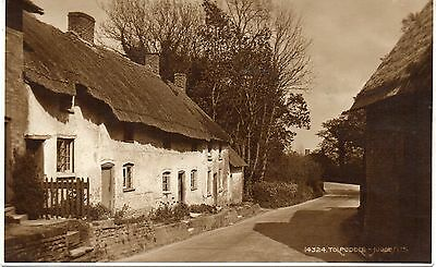 Old Postcard Tolpuddle Judges Posted 1933