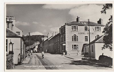 High Street, Gatehouse of Fleet Postcard, B112