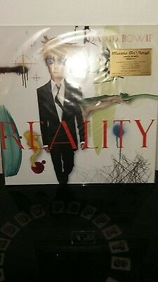 DAVID BOWIE Reality Green LP Super Low Number