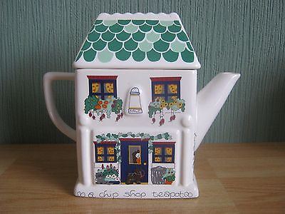 Collectable WADE English Life Teapots-Fish and Chip Shop