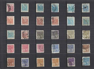 s9630 America's Brazil / A Small Collection of  Early & Modern Lhm & Used