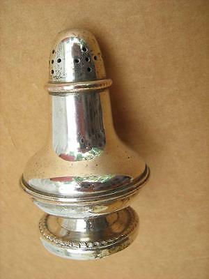 Silver plate pepper pot. Or any other powder  Cocoa, spice, sugar, talcum