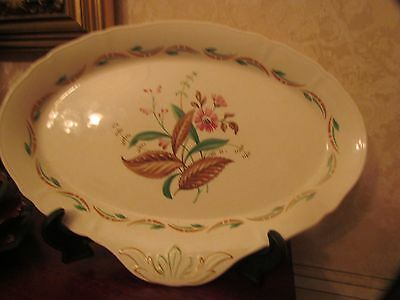 Alfred Meakin Floral Serving Plate