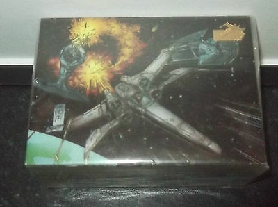 Star Wars Topps Trading Vehicles Cards full 72 card set Top Cow - 1997 Foil