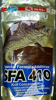 Marukyu SFA 410 Krill Liquid Concentrate Bag SFA410 increase power favour2 baits