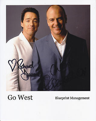 Go West Signed  10 Inch By 8 Inch Photograph