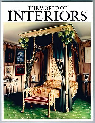 World Of Interiors Magazine January 2017 Limited Edition Collectors Cover New