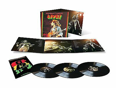 BOB MARLEY AND THE WAILERS LIVE 3 X VINYL (PRE-ORDER To Be Released 16/12/16)