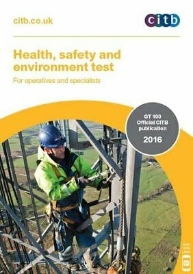 Health, Safety and Environment Test for Operatives and Specialists: G... by Citb