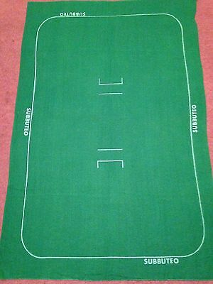 Subbuteo Cricket Cloth Pitch Great Condition
