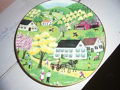 Collectors Crown Staffordshire plate