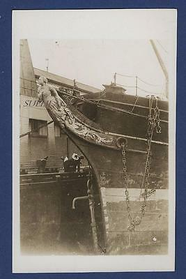 Sailing Ship Figurehead Barque Helen Denny Port Glasgow New Zealand Sail