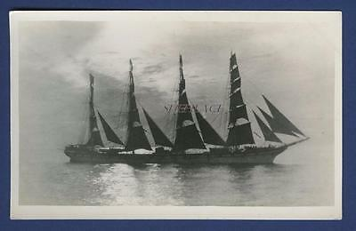 Sailing Ship French Four Masted Ship Tarapaca Glasgow Bordes WW1 Loss U-52 Sail