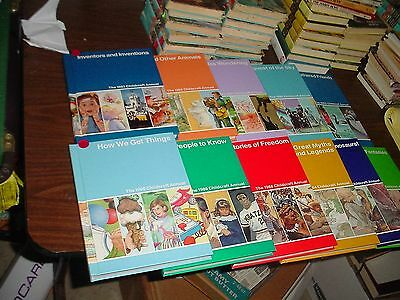 Eleven Childcraft Annuals From 1983-1993, Great Myths and Legends, Dinosaurs etc