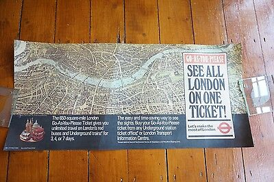 1981 See London Bus Interior Poster London Transport Routemaster