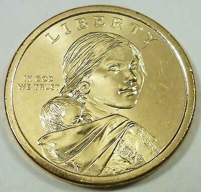 2009-D United States Sacagawea Dollar Gold Plated - Brilliant Uncirculated