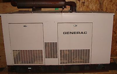 Electrical generator 35 kw 5.0L natural gas Generac 120/240 volt , 3 phase