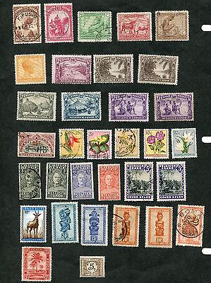 Stamp Lot Of The Belgian Congo