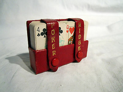 Vintage minature Heraclio Fournier playing cards