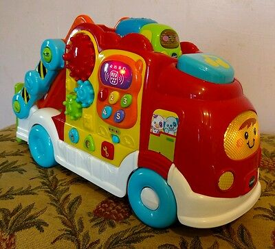 VTech Baby Toot Toot Drivers Car Carrier. Lights. Music. Toddler Toy