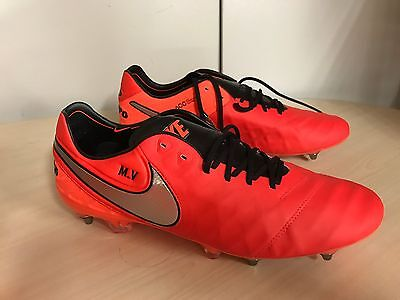 Nike Tiempo Legend SG Pro Leather Football Boots Uk 12 Red rrp £160