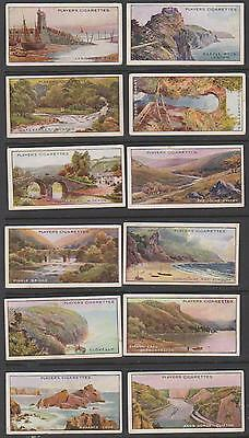 CIGARETTE CARDS Players 1917 Gems of British Scenery