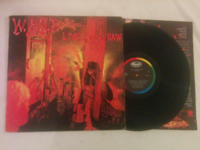 Vinilo The Wasp Live In The Raw Lp 1987