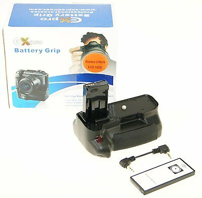 Ex-Pro® Vertical Power Grip Canon BG-100D Series - IR Release for Canon EOS 100D